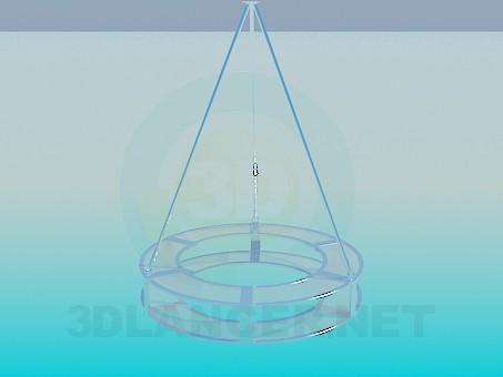 modelo 3D La araña en el estilo high-tech - escuchar