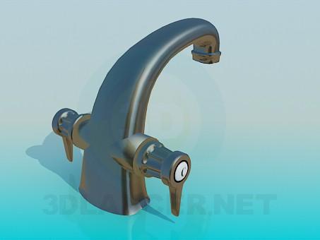 modelo 3D Grifo de lavabo - escuchar