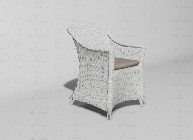 3d моделирование Matinique кресло модель скачать бесплатно