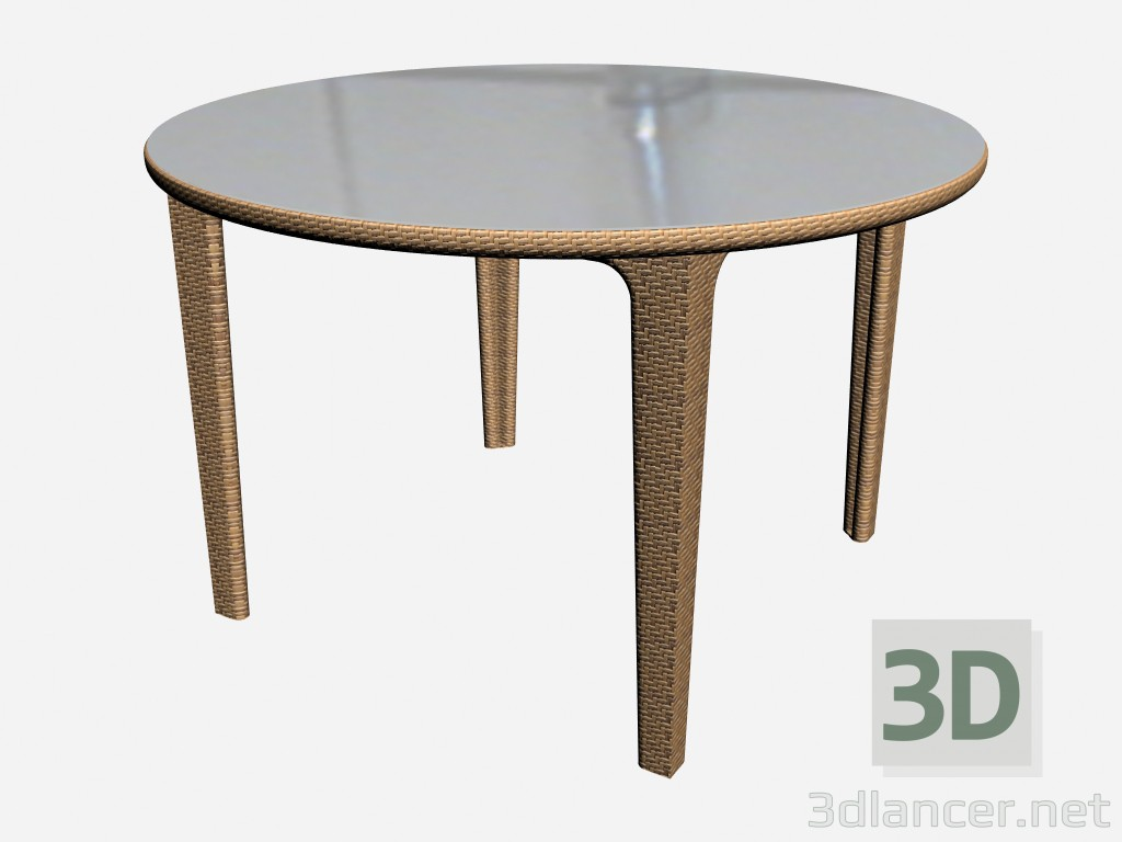 3d model dining table table base 6482 88120 manufacturer for Table 3d model
