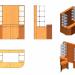 3D modeli Ada Vitrini - önizleme