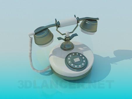 descarga gratuita de 3D modelado modelo Teléfono