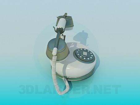 3d модель Телефон – превью
