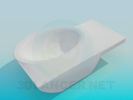 modelo 3D Lavabo de esquina - escuchar