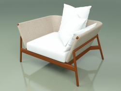 Sofa 001 (Metal Rust, Batyline Sand)