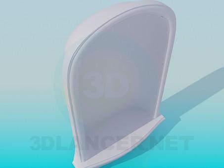 3d модель Ниша High Poly – превью