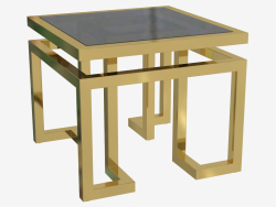 The table is attached Palmer 65x65 H 55cm (109994)