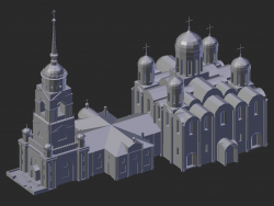 Vladimir. Cathédrale de l'Assomption