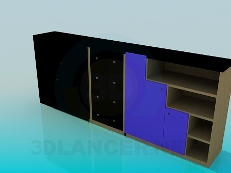 3d model Rack Low - preview