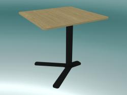 Tavolino quadrato con altezza regolabile YO T80 Q (50x50 H52 ÷ 70)