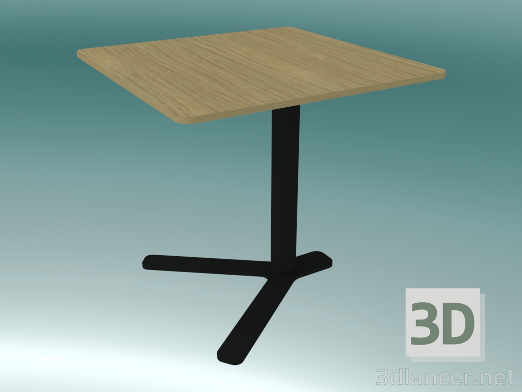 3d Model Square Coffee Table With Adjustable Height Yo T80 Q