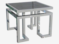 Table attached Palmer 65x65 H 55cm (108983)