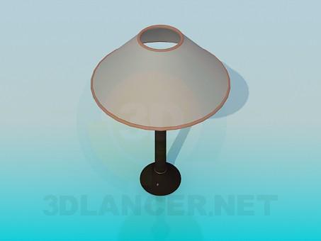 3d модель Лампа настільна з абажуром – превью