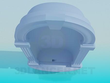 modelo 3D Nicho de - escuchar