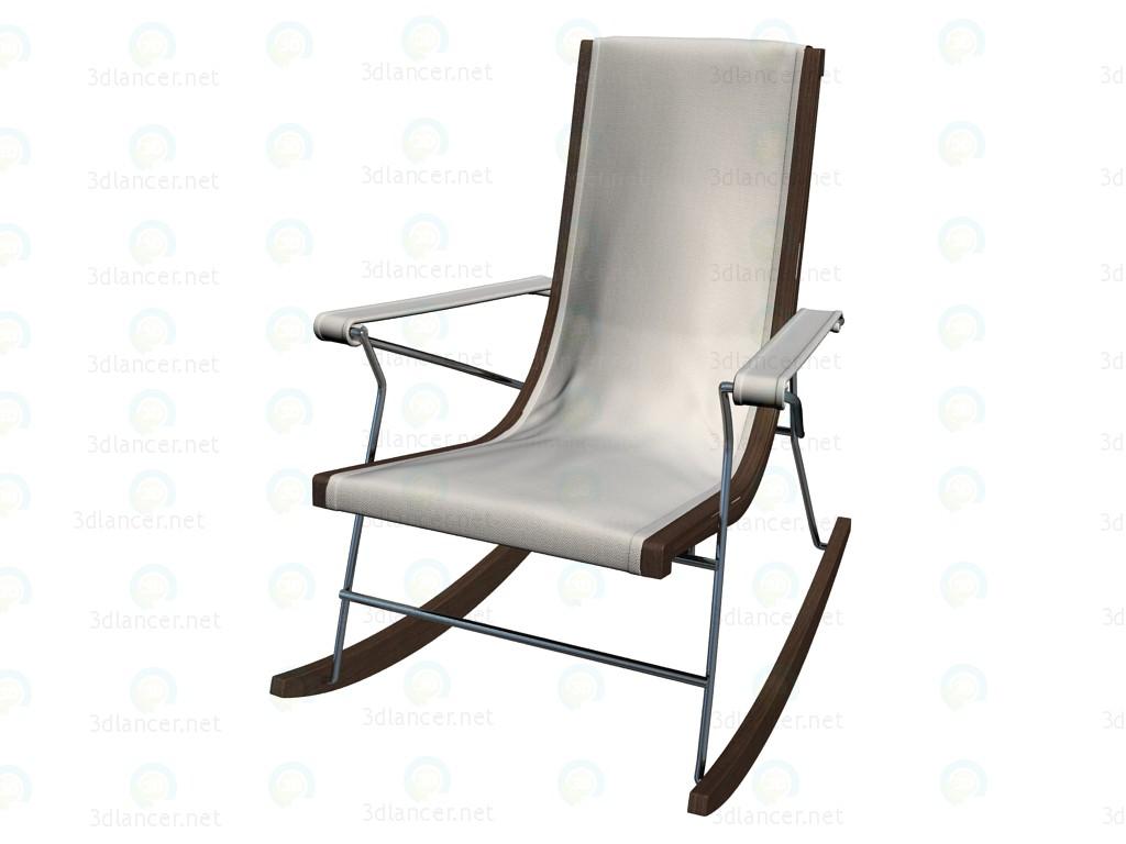 3d model Rocking chair PJ99D - preview