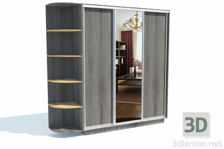 3d Closet ROME model buy - render