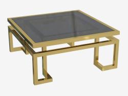 Table basse Palmer 100x100 H 45cm (109992)