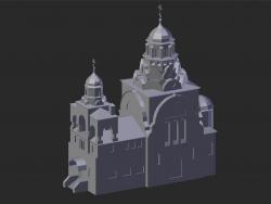 Vladimir. Église de la Trinité