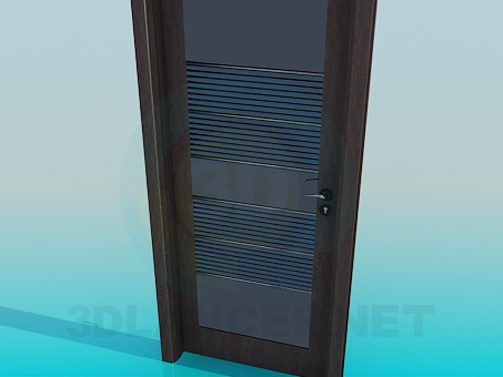 3d model The door of the Office - preview