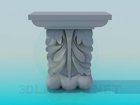 3d моделирование Декор модель скачать бесплатно