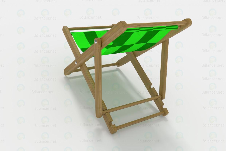 3d Шезлонг модель купити - зображення