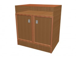 2-door TV cupboard A702