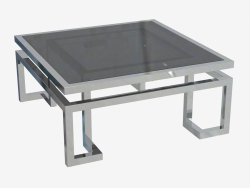 Table basse Palmer 100x100 H 45cm (108981)