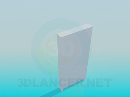 modelo 3D Puerta - escuchar