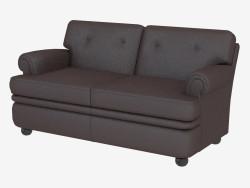 Deri kanepe çift klasik