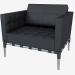 3d модель Кресло кожаное 241 PRIVE – превью