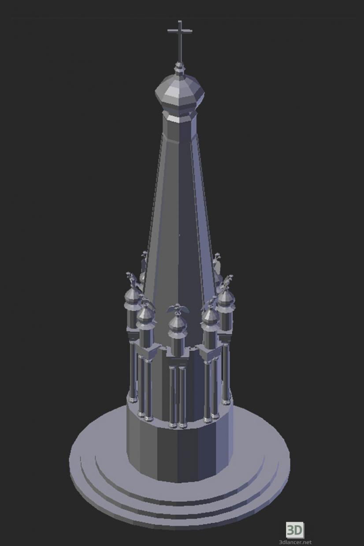 3 डी मॉडल Maloyaroslavets में। 1812 का स्मारक - पूर्वावलोकन