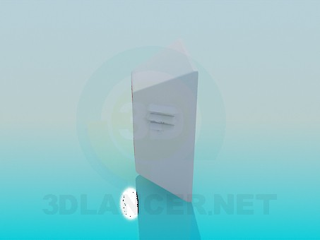 3d модель Динамик охраны – превью