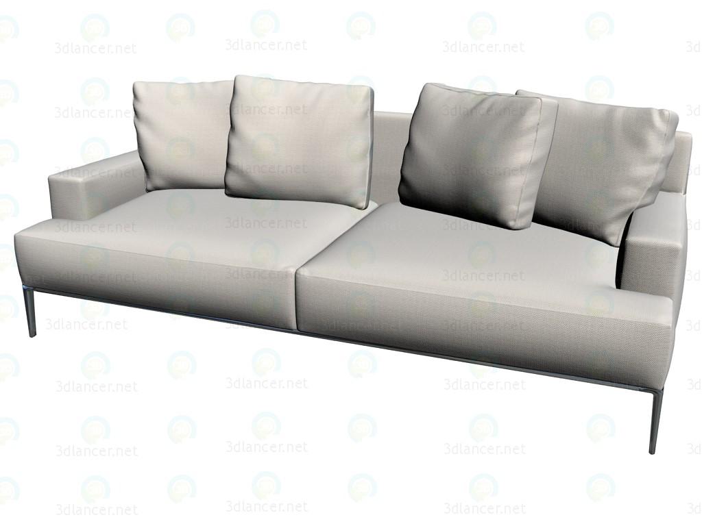3d model Sofa J225C2 - preview