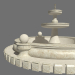 3d Fountain 01 model buy - render