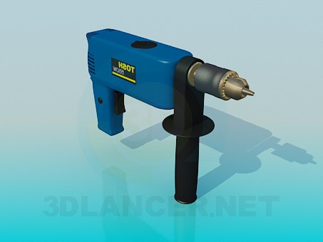 3d modeling Drill model free download