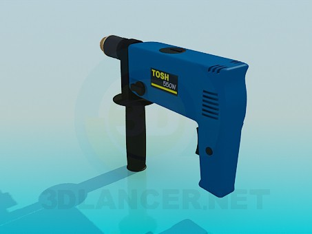 3d model Drill - preview