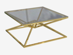 Coffee table Connor 100x100 H 45cm (109875)