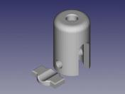 vacuum tube infusion clamp
