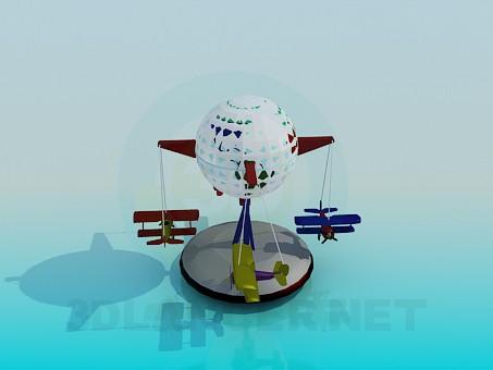 3d моделирование Игрушка для мальчика модель скачать бесплатно