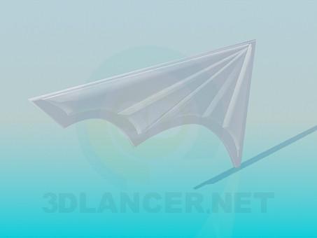 3d модель Обрамления ступеней – превью