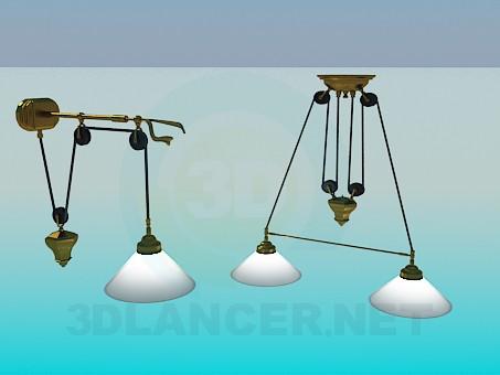3 डी मॉडल प्रकाश सेट - पूर्वावलोकन