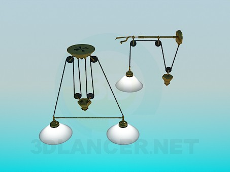 3d model Set lighting - preview