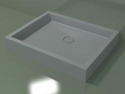 Shower tray Alto (30UA0128, Silver Gray C35, 100x80 cm)