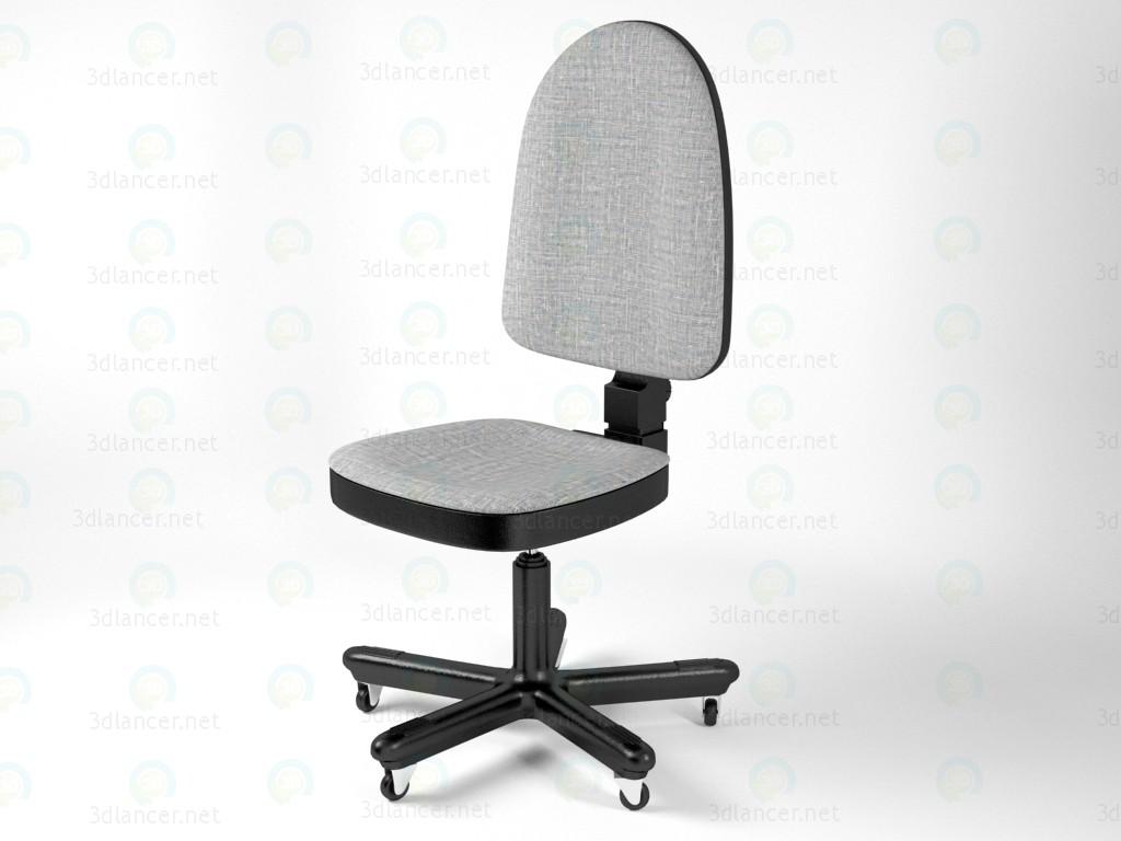 modelo 3D Silla de oficina barata - escuchar