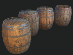 Barrel 4 texture sets