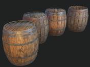 Barrel 4 texture sets