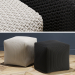 3d model pouf - preview