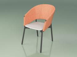 Comfort chair 022 (Metal Smoke, Orange, Polyurethane Resin Gray)