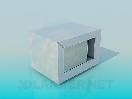 3d модель Тумба-подставка – превью