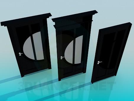 descarga gratuita de 3D modelado modelo Puertas